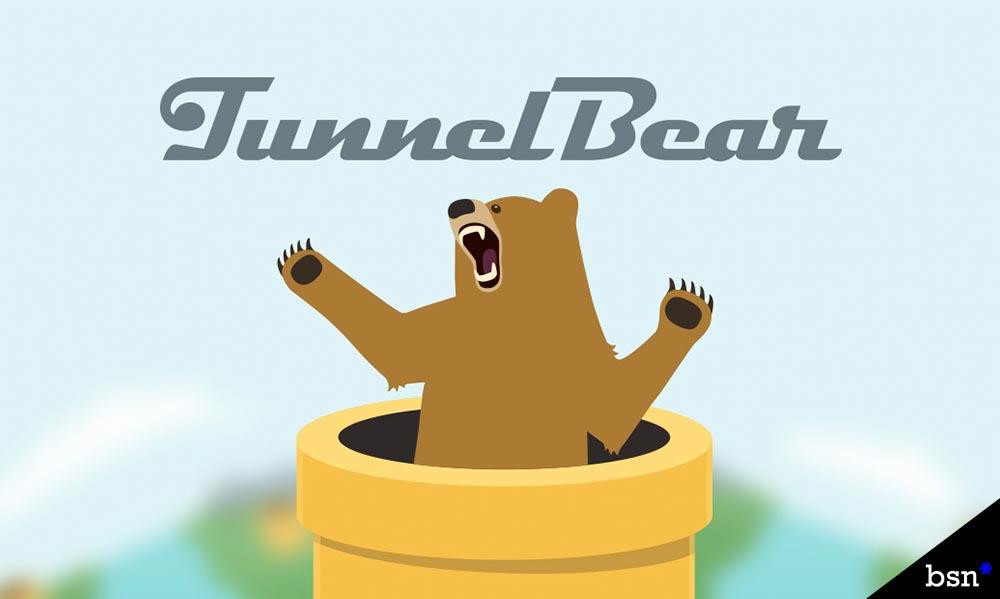 Tunnelbear VPN review main