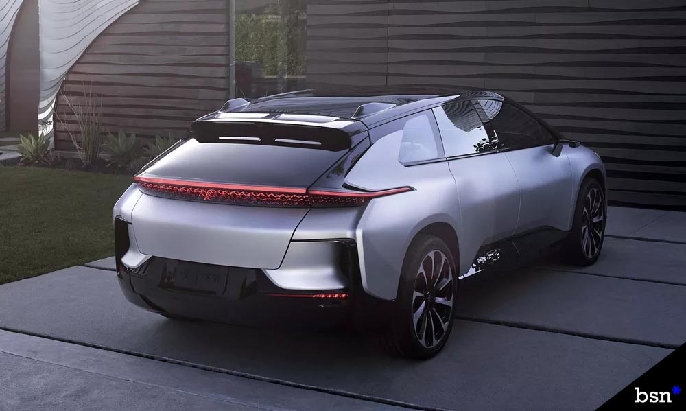 EV startup Faraday Future