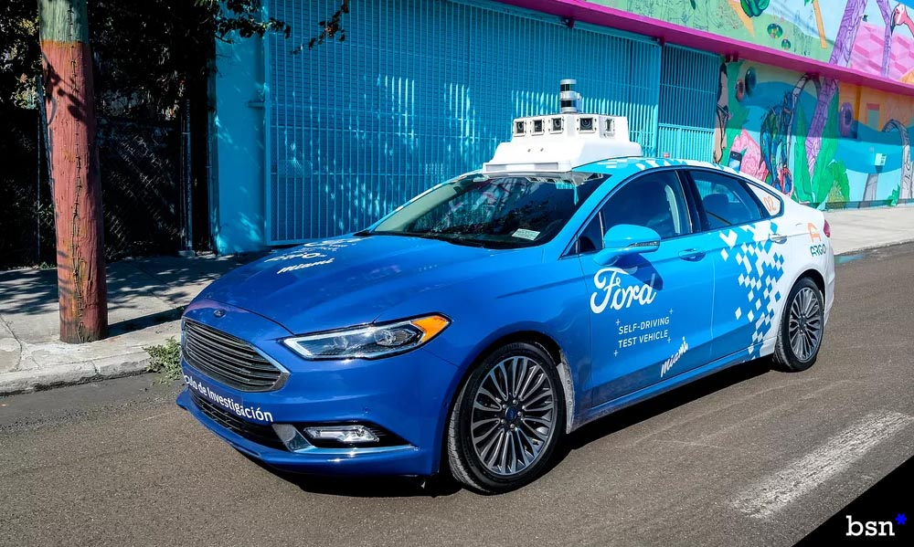 Ford Self Driving Taxies
