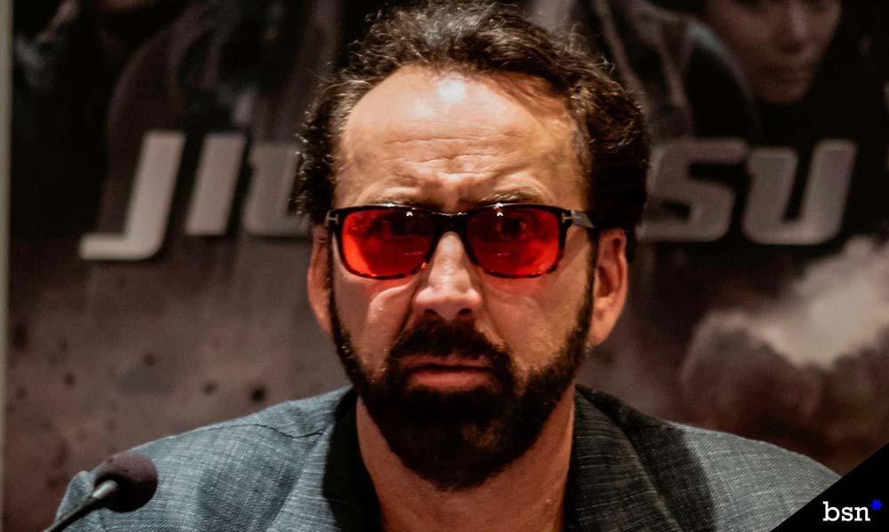 Nicolas Cage Tiger