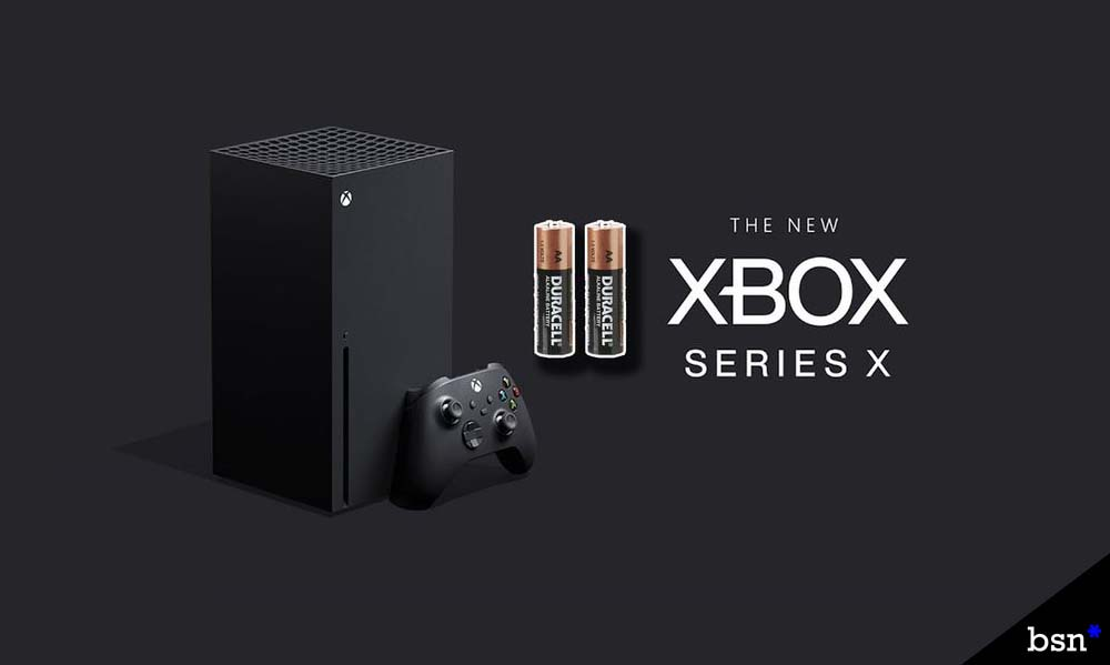 Xbox Series X Batteries Used