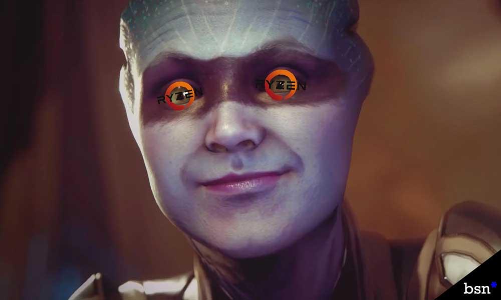 Ryzen Works with Mass Effect